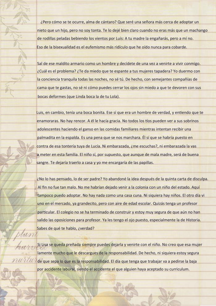 Carta de Dulce María p2
